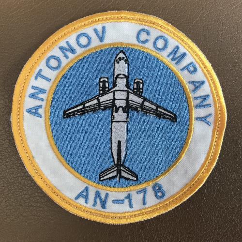 Шеврон нашивка АН - 178 AN Антонов ANTONOV COMPANI