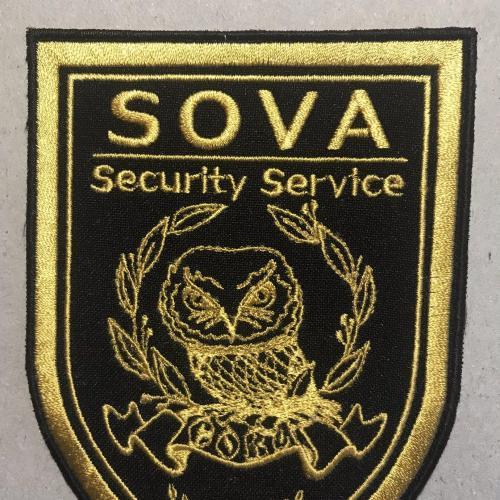 Шеврон нашивка СОВА SOVA Security Service