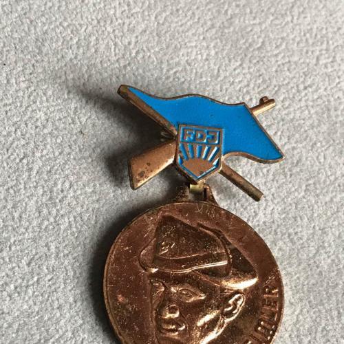 значок комсомол ГДР Hans Beimler медаль Хайнс Беймлер Германия т м подвеска