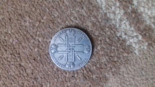 Монета Петра 1