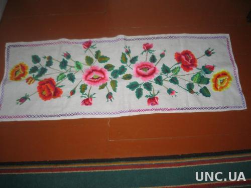 Старинное полотенце вышиванка