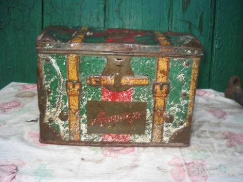 Старинная коробочка Одесса царизм