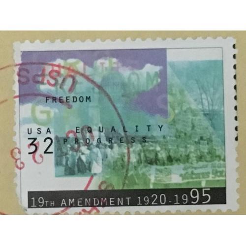 Марка США. 32 цента.