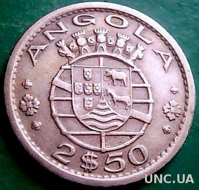 Ангола 2,5 эскудо 1956 год