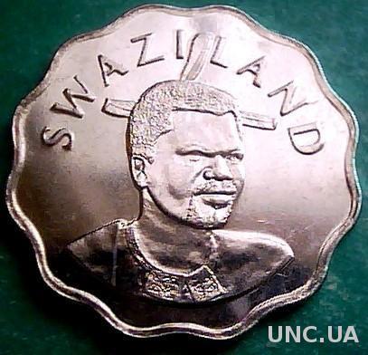 Свазиленд 5 центов 2008 год