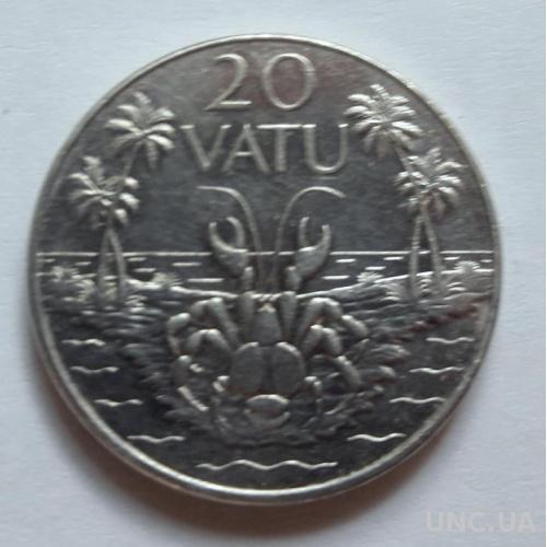 Вануату 20 вату 2010 год
