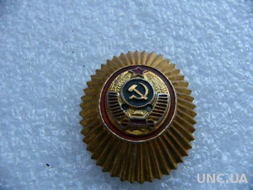 Кокарда МВД СССР, старая