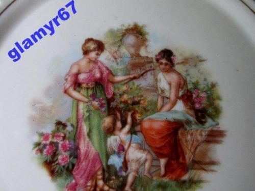 Коллекционная тарелка SCHWARZENHAMMER- BAVARIA. styl MEISSEN. Венеры и Дети.  D-18 см.