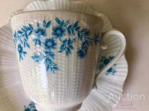 FRANCE LIMOGES A.GIRAUD Co. костяной фарфор коллекционная чашка. клеймо