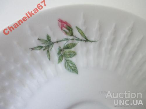 Тарелка  Hutschenreuther - BAVARIA. 1957 г. d -15,7 см. РОЗЫ. Идеал.