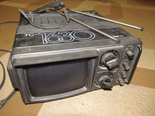Телевизор ТС-1630 рабочий старинный!