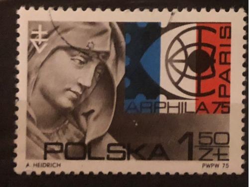 Польша  1975г  Филателистическая выставка
