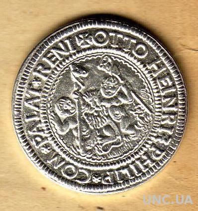 Германия Бавария 1/4 таллера 1505 год серебро 999 проба