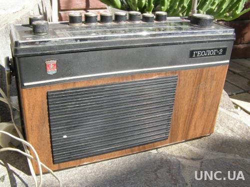 Радиоприемник Геолог-2 СССР