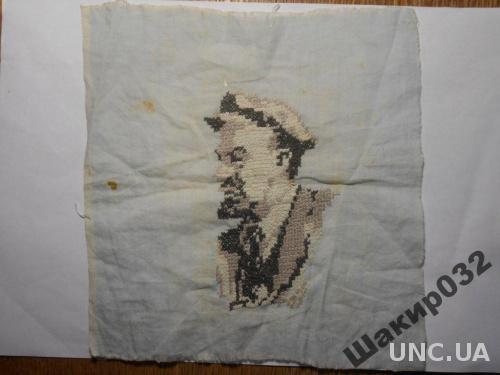 Вышивка Ленин.Платочек
