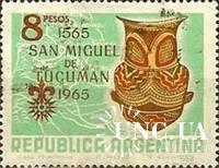 Аргентина 1965 археология посуда керамика майя ** о