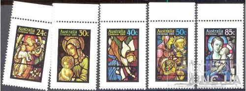 Австралия 1984 Рождество религия живопись ** м
