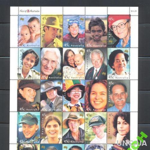 Австралия 2002 люди Лица Австралии НОМИНАЛ **