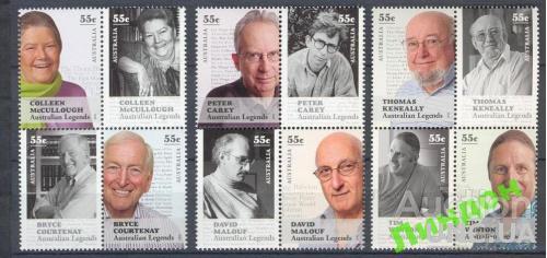 Австралия 2010 Легенды Австралии писатели проза поэзия **