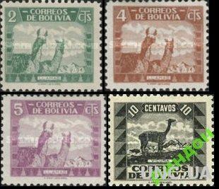 Боливия 1939 фауна ** о