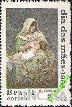 Бразилия 1968 День Матери религия живопись ** о