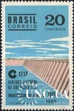 Бразилия 1969 дамба ГЭС архитектура ** о