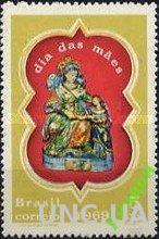 Бразилия 1969 День Матери религия живопись ** о