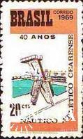 Бразилия 1969 спорт клуб ** о
