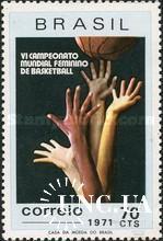 Бразилия 1971 баскетбол спорт ** о