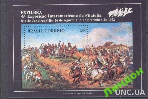 Бразилия 1972 живопись война битва при Рио ** о