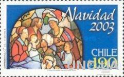 Чили 2003 Рождество религия живопись ** м