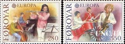 Фареры 1985 Европа Септ музыка ** с