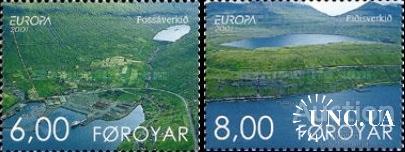 Фареры 2001 Европа Септ сохранение воды природа ** с