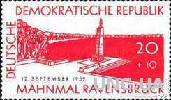 ГДР 1959 Равенсбрюк концлагерь война иудаика ** есть кварт о