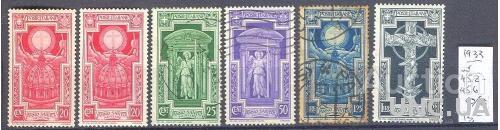 Италия 1933 люди религия архитектура 6м * и гаш ан