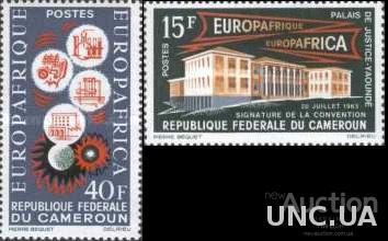 Камерун 1964 Европейско-Африканская экономич. конвенция с/х пром-ть химия ** о