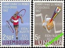 Люксембург 1962 ЧМ спорт велосипеды ** о