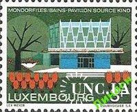 Люксембург 1968 архитектура Mondorf-les-Bains ** о