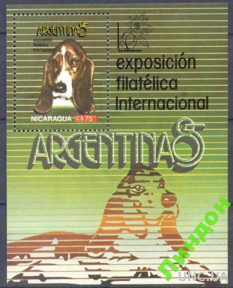 Никарагуа 1985 собаки фауна ** о