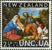 Новая Зеландия 1963 Рождество живопись религия ** м
