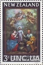 Новая Зеландия 1965 Рождество живопись религия ** м