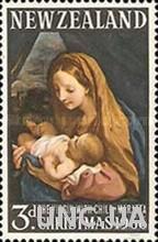 Новая Зеландия 1966 Рождество живопись религия ** м