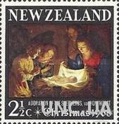 Новая Зеландия 1968 Рождество живопись религия ** м