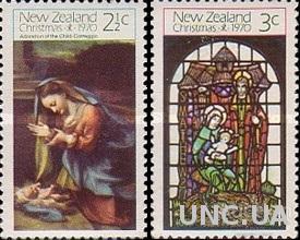 Новая Зеландия 1970 Рождество живопись религия ** м