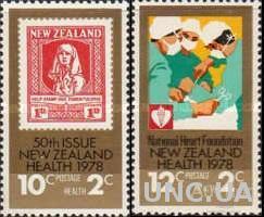Новая Зеландия 1978 Здоровье медицина Красный Крест марка на марке ** м