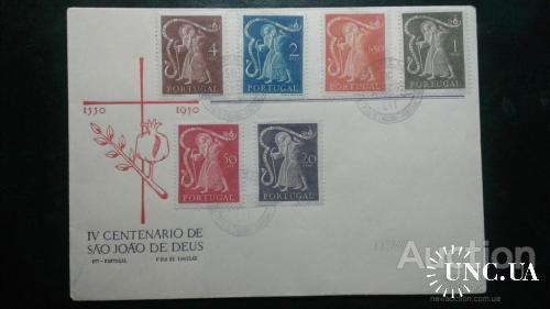 Португалия КПД 1950 Св. Иоанн Борота религия люди о