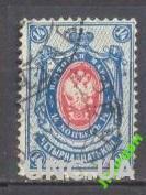 Марка Россия 1884 стандарт 14 коп №39 гаш