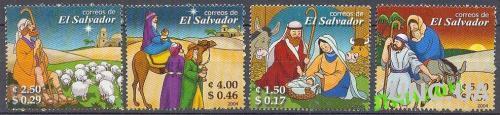 Сальвадор 2004 Рождество религия живопись** о