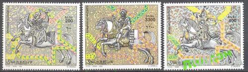Сомали 1999 рыцари униформа костюмы кони лошади **