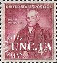 США 1958 Ноа Уэбстер люди языковед ** м